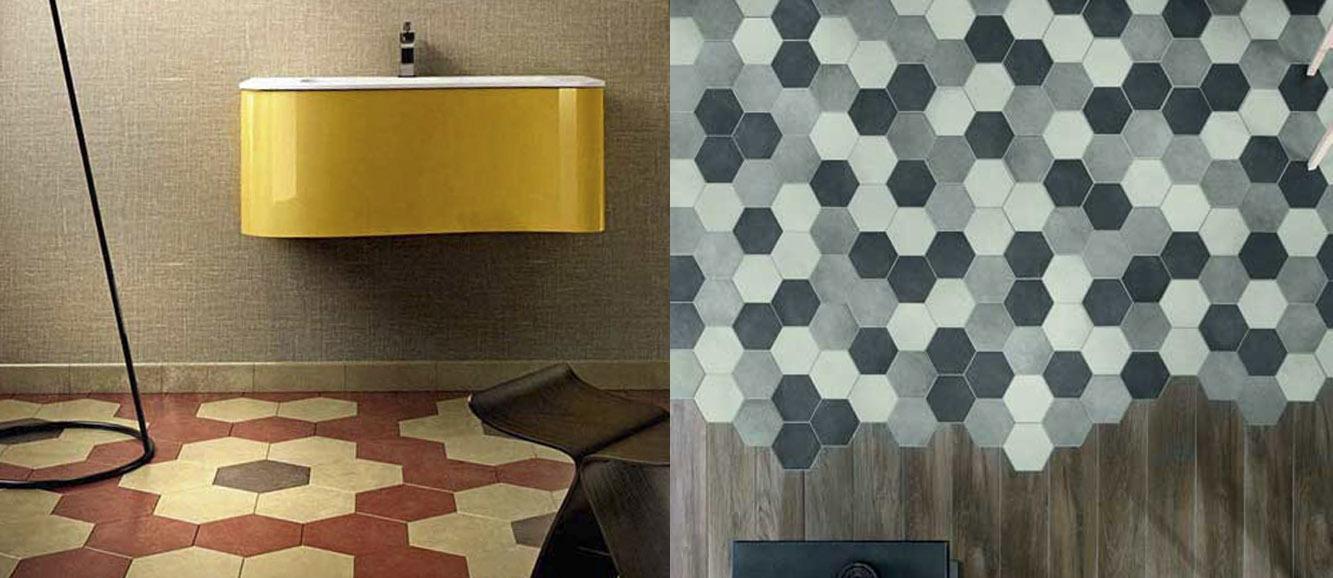 Piastrelle esagonali mutina idee di design per la casa - Piastrelle esagonali ...